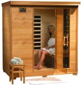Monticello - 4 Person Carbon Heater Heatwave Infrared Home Sauna