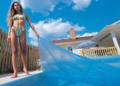 Solar Blankets For Inground Pools - Blue W/5 Year Warranty