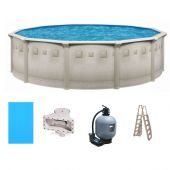 Ocean Mist Deluxe Above ground pool