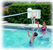 Pool Shot Basketball-Volleyball Combo (Wiss127) - Free Shipping!