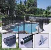 Gli Protect A Pool Safety Fence Black Available In 4