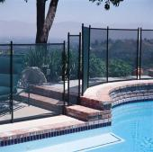 Gli Protect-A-Pool Safety Fence (4 X 10 Section) -Black (30-0410-Blk)