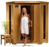 Santa Fe - 3 Person Carbon Heater Heatwave Infrared Home Sauna