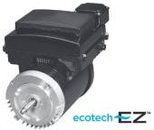 square flange ecotech variable speed pump motors