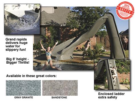 Sr Smith Turbo Twister Pool Slide