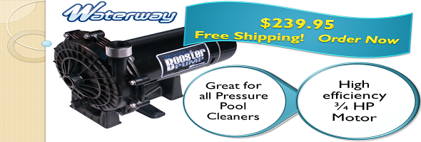 waterway booster pump for all pressure cool cleaners